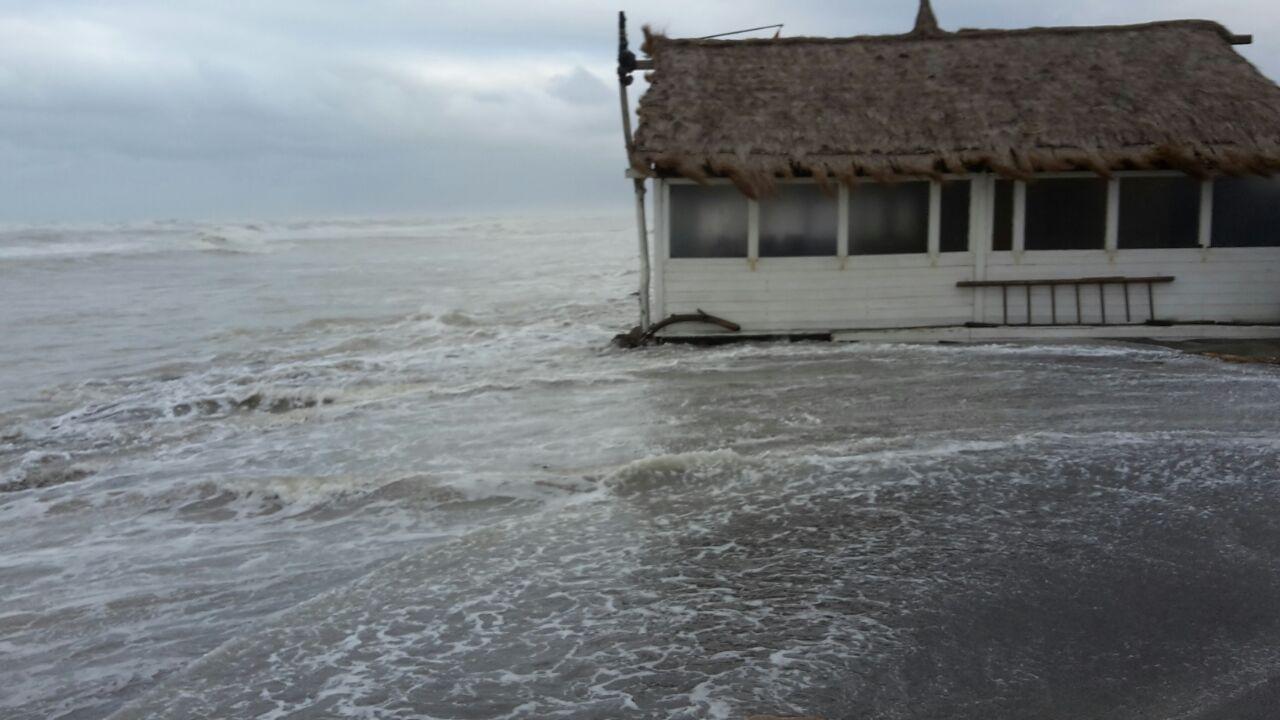 Erosione costiera Fiumicino